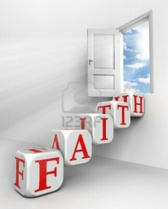 11810620-faith-red-word-conceptual-door-with-sky-and-box-ladder-in-white-room-metaphor